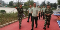 消防总队蔡卫国总队长检查指导新训工作 - 公安厅