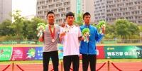 我校健儿夺得两枚学运会竞走铜牌 - 贵州大学