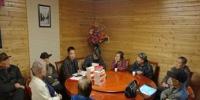 厅老干处和离退休干部党支部一起学习宣传贯彻党的十九大精神 - 环保局厅
