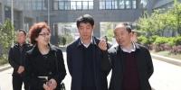 校党委副书记吕保平、副校长罗俊到安顺市人民医院走访调研 - 贵阳医学院