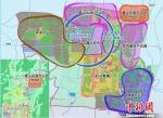 """遵义综合保税区""""两区六园""""规划示意图 遵义市委宣传部供图 - 贵州新闻"""