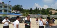 2018年8月12日督查组在岑巩县第二污水处理厂现场督察1.jpg - 环保局厅