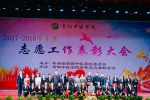 我校举行优秀志愿服务工作表彰大会 - 贵阳中医学院