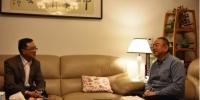 省人大常委会副主任、秘书长陈鸣明走访慰问离退休老干部 - 人民代表大会常务委员会