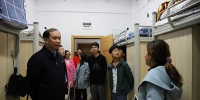 校党委书记林昌虎深入学生寝室走访看望学生 - 贵阳医学院