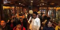 考察团一行在考察途中。贵州省文化和旅游厅供图 - 贵州新闻