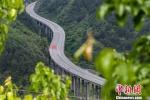 资料图:图为贵州思南至剑河高速公路。贺俊怡 摄 - 贵州新闻