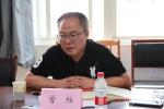 副校长曾柱到党委研究生工作部和研究生院调研 - 贵阳医学院